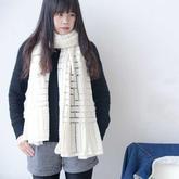 金羊女士鉤針城墻圍巾編織視頻教程