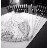 手工蕾丝工艺中的奢侈品