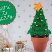 圣诞节装饰丨文字详解简单可爱钩针圣诞树钩法
