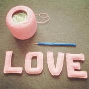 立体love的钩法图解