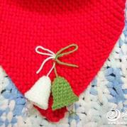 简单可爱钩针编织毛线圣诞小铃铛