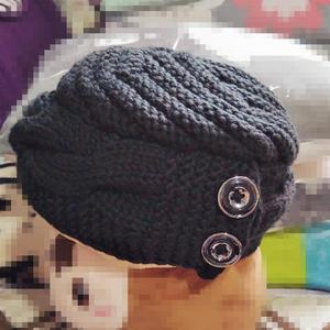 新手也可以轻松编织的别致另类棒针帽子