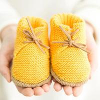 棒针宝宝中筒鞋编织视频教程(2-1)