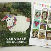 在风景如画英国市集小镇的毛线编织节Yarndale