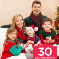 零线打造最浓节日风情 毛线编织圣诞节等派对装饰