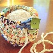 毛线及生活用品在编织时还可以这样用