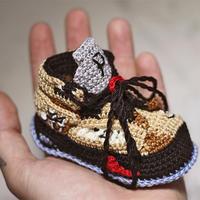 钩针宝宝鞋与新爸爸会擦出什么样的火花?