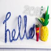 新年创意编织集 用毛线除织毛衣还可以如何拥抱新的一年?
