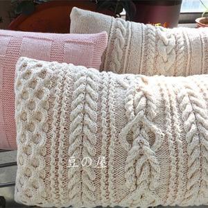 3款棒针编织靠垫抱枕图解教程
