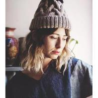 看文艺的她怎么玩毛线