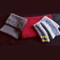 3款新手也能编织的冬款围脖围巾
