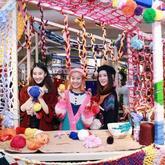 魔都上海岁末年初大玩特玩起了毛线编织