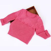 婴幼儿棒针圆领毛衣编织视频教程(2-2)