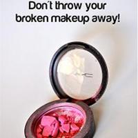 轻松修复碎裂的美妆粉饼类产品