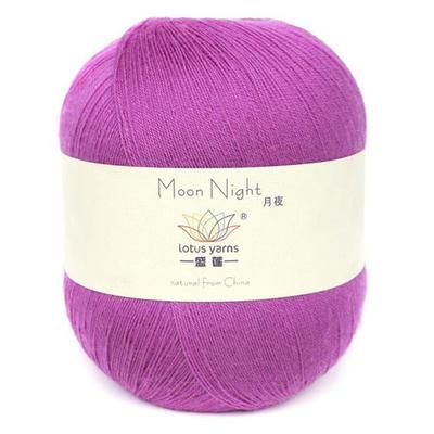 盛莲月夜 美利奴羊毛羊绒线/春夏细毛线/宝宝线羊绒线