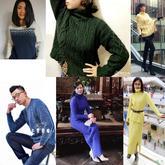 201703期周热门编织作品:时尚手编男女毛衣14款