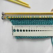 如何正确计算织毛衣要起多少针 棒针编织基础技巧教程
