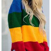 毛衣上的撞色小心机,你识破了嘛?