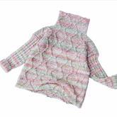 儿童棒针时尚休闲堆堆领毛衣编织视频教程