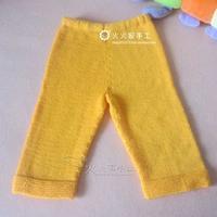 基本款儿童满裆裤毛裤编织方法