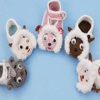 喜羊羊系列毛线宝宝鞋编织视频教程(3-1)鞋身的钩法