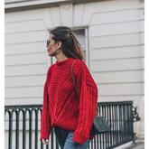 初春怎么穿针织衫才能潮翻天?
