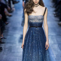 与Dior2017共赴浩瀚蓝色之约 毛衣服饰中不同层次的蓝