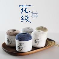 【花线.意大利结】编织人生进口线材手工编织棉亚麻春夏新品线