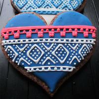 女神节织女们的毛线编织主题饼干