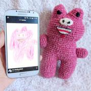 立陶宛宝妈巧手钩编将二次元画转为三次元毛线玩偶