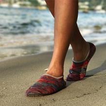 这个春天有新鞋穿 居家旅行办公室都非常适用的毛线鞋