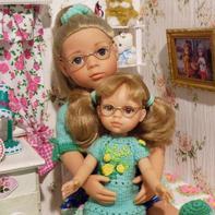 粗细金属线轻松DIY玩偶娃娃眼镜