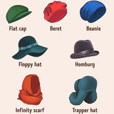 春天更适合用帽子来凹造型 你知道自己适合什么样的帽子吗?