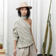 可追根溯源的手工编织时尚毛衣 加拿大设计师Laura Siegel同名品牌