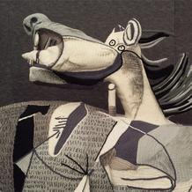 意大利纱线艺术团体用毛线重现世界名画