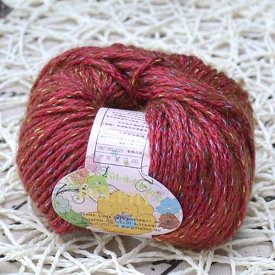 黛尔妃HD320贝茜儿 精品花式手编绒线/澳毛线/粗棒针线/围巾线