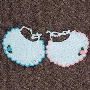 宝宝鞋花的钩法视频_可爱宝宝钩针围嘴的钩法-编织教程-编织人生