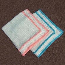 孪生宝宝超级套装之钩针婴儿毯教程