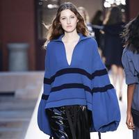 法国针织皇后同名品牌Sonia Rykiel2017时装周主线与副线品牌毛衣款式