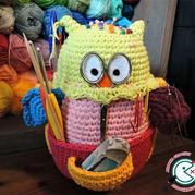 很有趣!即是萌可爱的玩偶又是编织工具收纳