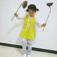 简单可爱女童钩针背心裙