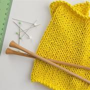 清晰图文详解如何测量编织密度(平针花样小样测量方法)