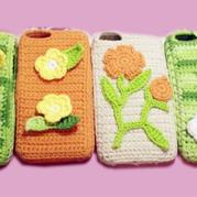 创意毛线编织钩针手机保护套 新手学钩针编织视频教程