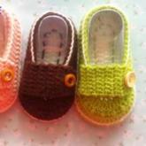 宝宝休闲鞋 钩针婴儿宝宝鞋手工编织视频教学