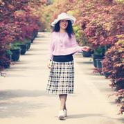 时尚减龄经典美丽诺优雅棒针女士毛衣