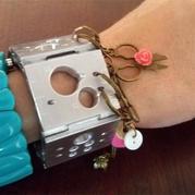 外出携带零碎编织小工具一条酷炫手链就搞定 TINK旅行安全针织工具