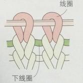 棒针基础上下针的针目识别及其基本织片