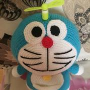 巨型哆啦A梦U乐娱乐youle88图解 超大钩针机器猫玩偶
