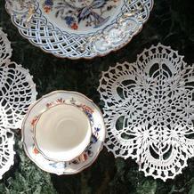 雪片般的蕾丝桌垫 3款漂亮钩针蕾丝小台布图解教程