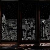 很暗沉却能带来美妙感受的创意遮光窗帘